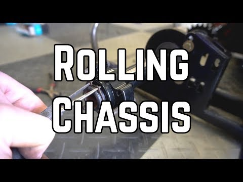 200cc Racing Shifter Kart Build: Rolling Chassis! (Pt. 3)