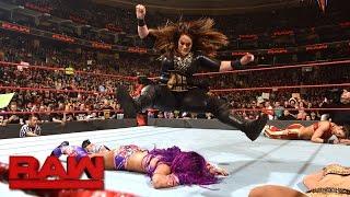 Bayley & Sasha Banks vs. Charlotte Flair & Nia Jax: Raw, March 27, 2017