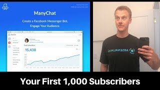 How To Get Your First 1000 Manychat Subscribers In Just 30 Days! (free!)