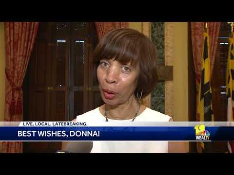 Mayor Pugh sends best wishes to Donna