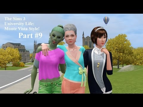 Let's Play The Sims 3 University Life: Monte Vista Style Part 9-- One Seed Two Seed,Me Seed You Seed