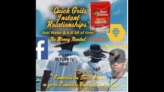 "Full Show ""Quick Grits Instant Millennial Relationships"" Tonetalks Dash Radio"