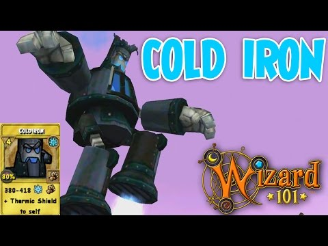 Wizard101: Cold Iron Spell