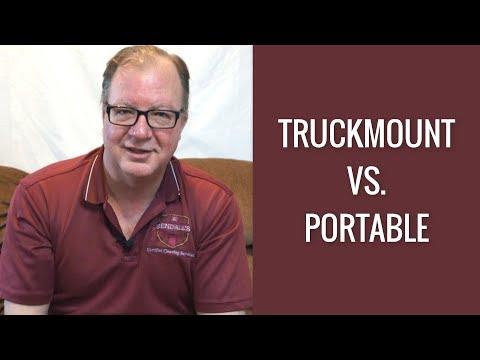 Truckmount VS  Portable | Rendall's Rant