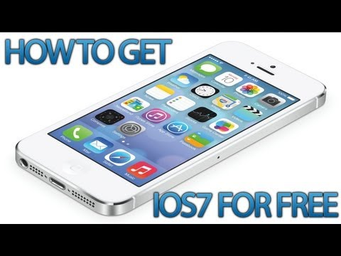 How To Get iOS7 For Free