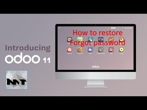 How To Reset Forgot Password Odoo 11 In Postgres