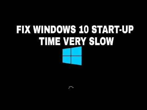 How to make windows 10 startup faster