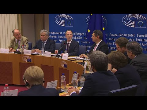 Mark Zuckerberg Testified Before EU Parliament, but the Hearing's Format Left MEPs With No Answers