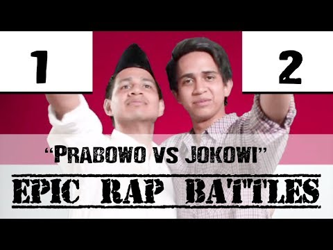 Prabowo vs Jokowi - Epic Rap Battles of Presidency