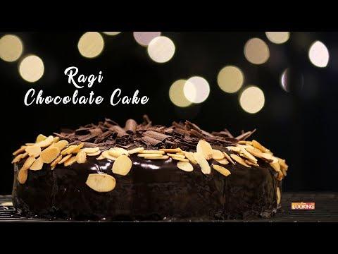 Eggless Ragi Chocolate Cake | Easy Pressure Cooker Cake