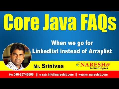 When we go for Linkedlist instead of Arraylist | Core Java Interview Questions