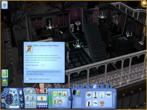 Sims 3 Debug Enabler Mod - Instant Book Written Cheat