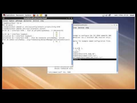 Installation & Configuration  DNS Sous Linux - REDHAT -
