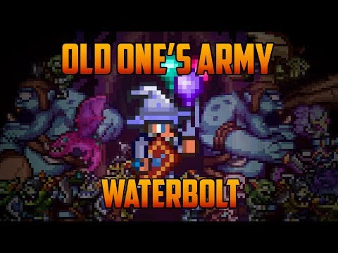 Terraria - Expert Old One's Army vs Waterbolt (tier 2)
