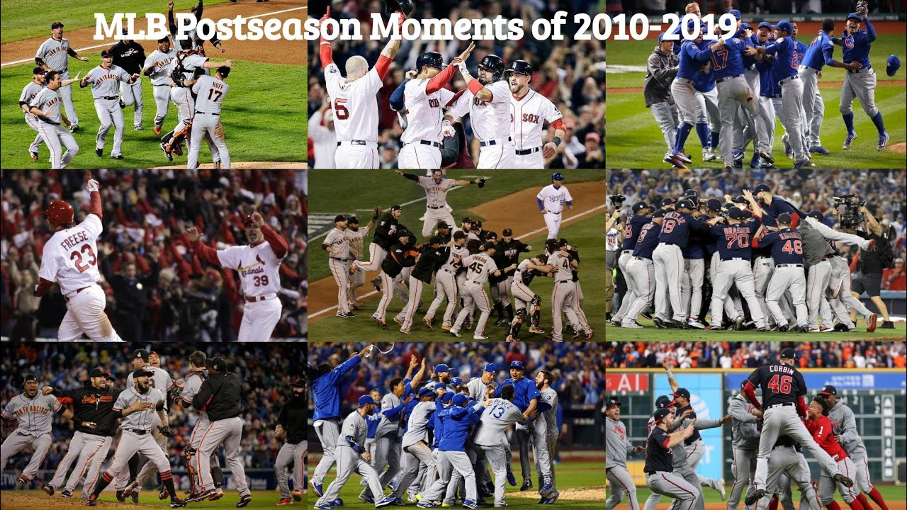 MLB Postseason Moments of 2010-2019