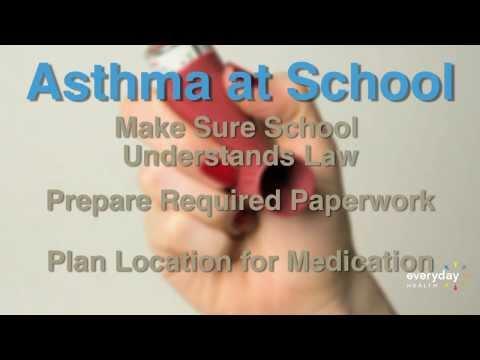 Asthma Inhalers at School