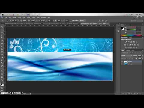 Cara Buat Banner Dengan Photoshop CS6