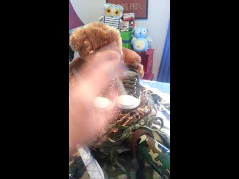 Army Tank Diaper Cake