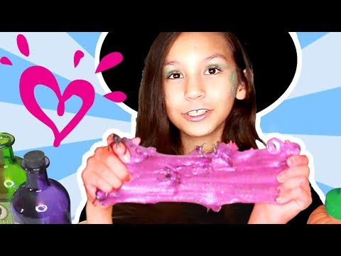 HOW TO MAKE SLIME 💗 JUSTICE
