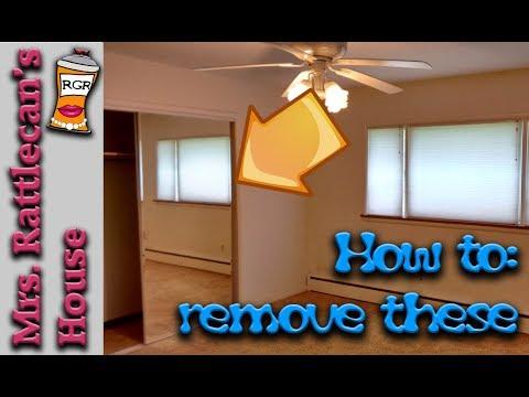 remove sliding closet doors | MRS. RATTLECAN'S HOUSE