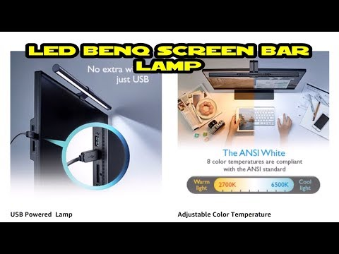 BenQ Screen Bar E-Reading lamp for you Monitor or TV