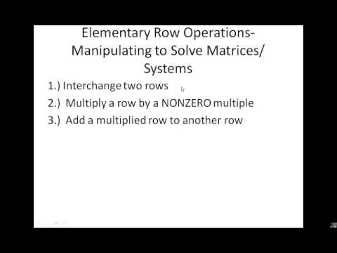 8 1 Systems and Matrices