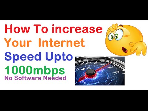 How to Increase your Internet Speed | upto 1000 mbps
