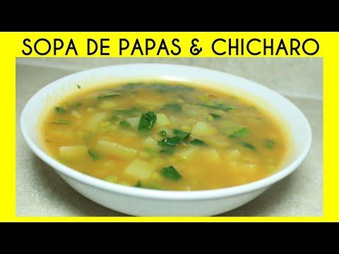 SOPA DE PAPAS & CHICHAROS