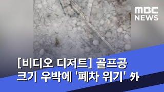 [비디오 디저트] 골프공 크기 우박에 '폐차 위기' 外 (2020.07.01/뉴스외전/MBC)