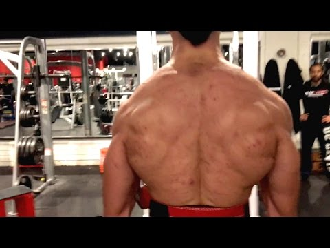 Men's Physique Building A Thicker, Wider Back!