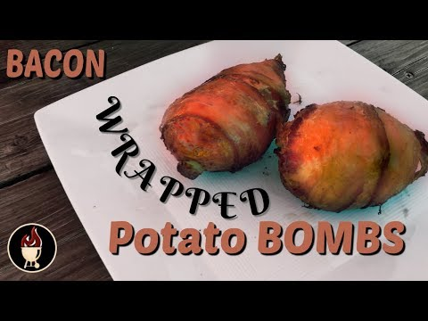 Potato Bombs | Stuffed Potatoes On The Weber Charcoal Grill