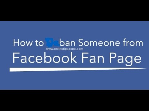 How to Block or Ban Users from Facebook Page