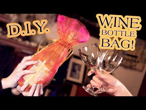 DIY Wine Bottle Bag | DAMSELS IN DIY