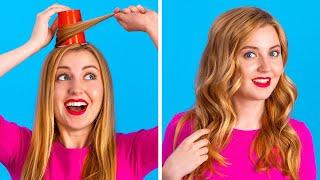 FUN DIY BEAUTY HACKS || Smart Girly Hacks by 123 GO!