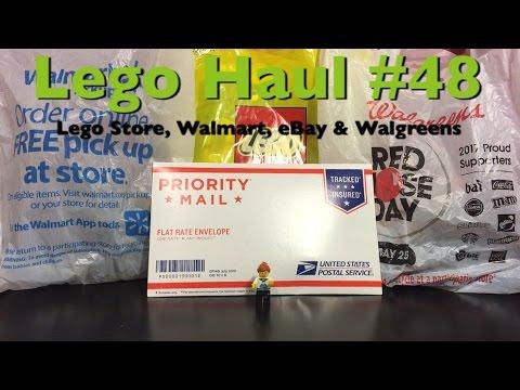 Lego Haul #48 - Lego Store, Walmart, Walgreens & EBay