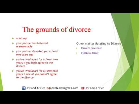How to divorce in the UK?