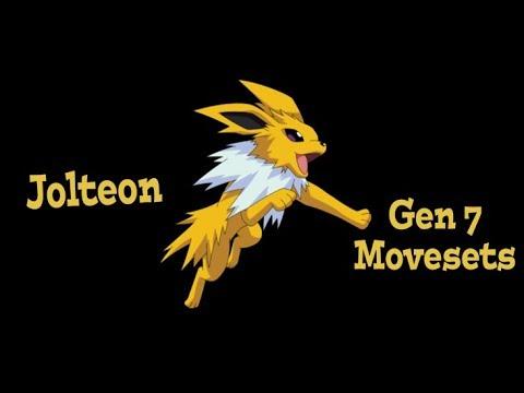 Competitive Pokemon Movesets: Jolteon