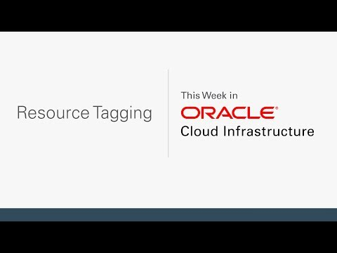 Resource Tagging