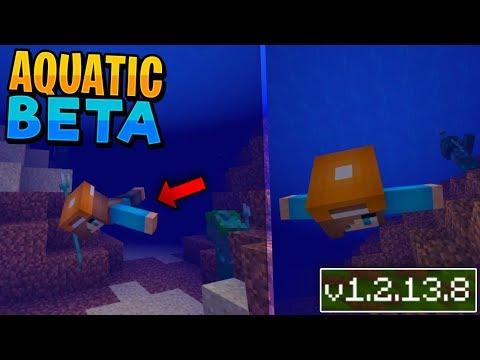 THE AQUATIC UPDATE!! - Minecraft 1.3 Gameplay (Aquatic Beta Android/Xbox/Windows 10)