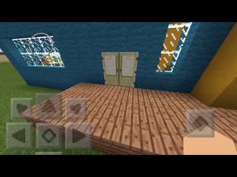 Hello Neighbor Alpha 3 House Tour Minecraft PE