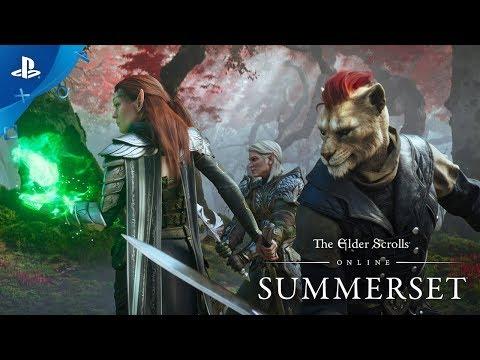 The Elder Scrolls Online: Summerset - Cinematic Trailer | PS4