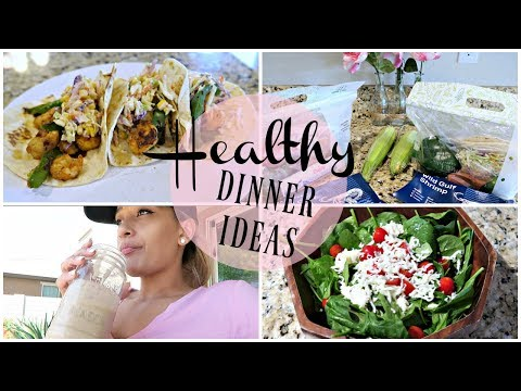 COOK WITH ME 2018 | HEALTHY MEALS | PARMESAN CRUSTED COD | CAJUN SHRIMP TACOS