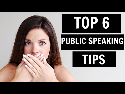 Public Speaking Tips (2015)