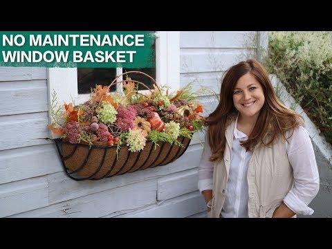 No Maintenance Window Basket // Garden Answer