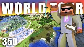 WORLD TOUR!!! | Minecraft Let's Play #350