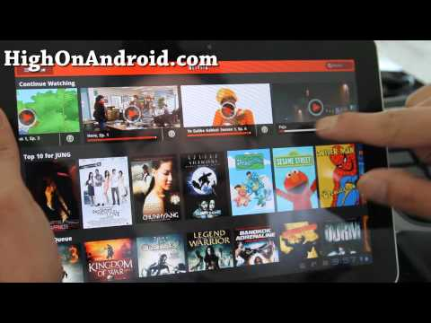 Netflix 1.5.2 for Android Tablets!