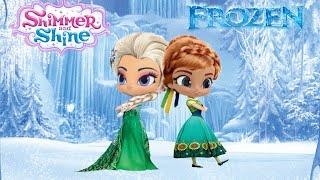 Shimmer And Shine Color Episode Disney Frozen