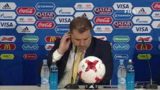 CHI v AUS - Ange Postecoglou - Australia Post-Match Press Conference