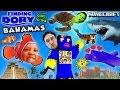 FINDING DORY In BAHAMAS Minecraft FGTEEV Boys Atlantis Resort Hotel Water Slide Map W NemoShark