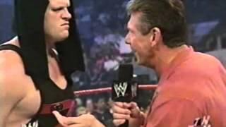 Vince, Stone Cold, Kane, & Shane Raw Segment.